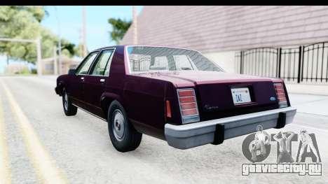 Ford LTD Crown Victoria 1987 для GTA San Andreas вид слева