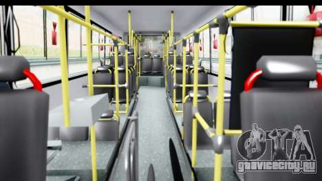 Bus La Favorita Ecotrans для GTA San Andreas вид изнутри