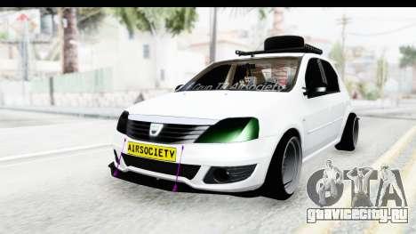 Dacia Logan Coil для GTA San Andreas вид сзади слева