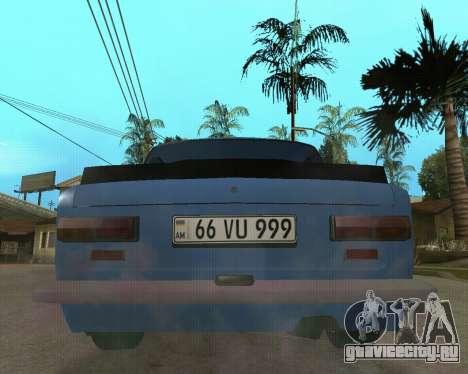 ВАЗ 2101 Армения для GTA San Andreas вид слева