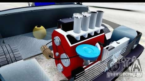 Fiat 147 для GTA San Andreas вид изнутри