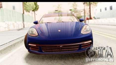 Porsche Panamera 4S 2017 v4 для GTA San Andreas