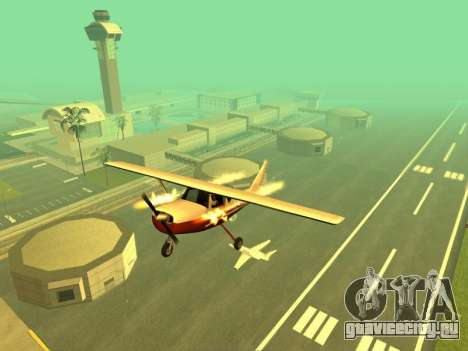 Добавление оружия на воздушную технику для GTA San Andreas третий скриншот