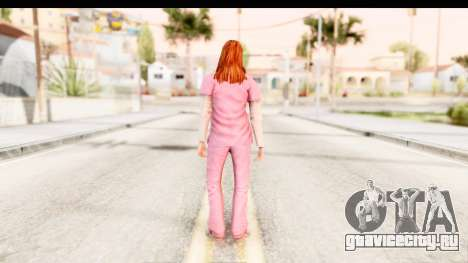 Silent Hill Shattered Memories - Lisa Garland для GTA San Andreas третий скриншот