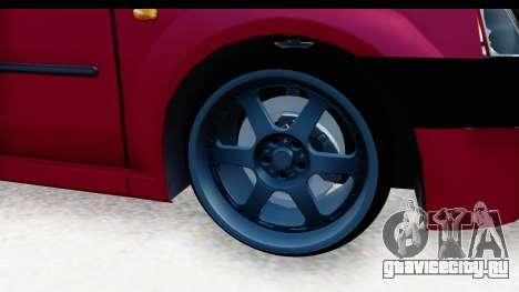 Dacia Logan Editie для GTA San Andreas вид сзади