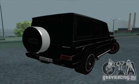Mercedes-Benz G55 для GTA San Andreas вид справа