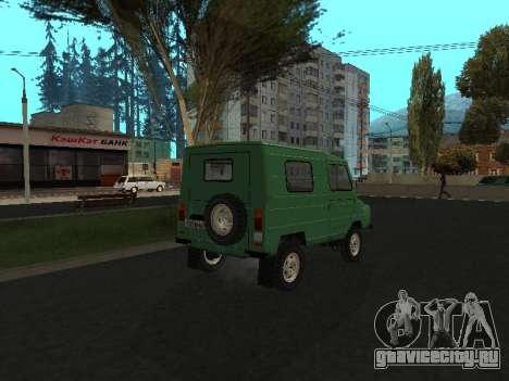 ЛуАЗ 969М v2 для GTA San Andreas вид сзади слева