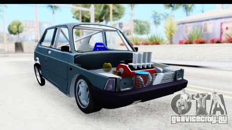Fiat 147 для GTA San Andreas вид справа