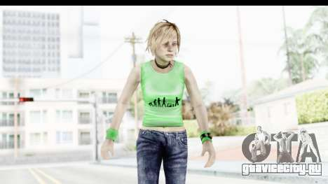 Silent Hill 3 - Heather Sporty Green Evolution для GTA San Andreas