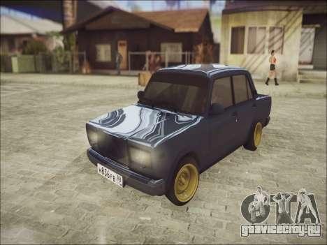VAZ 2107 Black Jack для GTA San Andreas