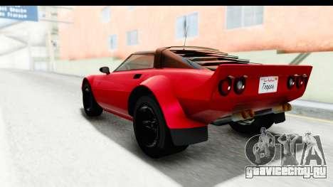 GTA 5 Lampadati Tropos IVF для GTA San Andreas вид слева