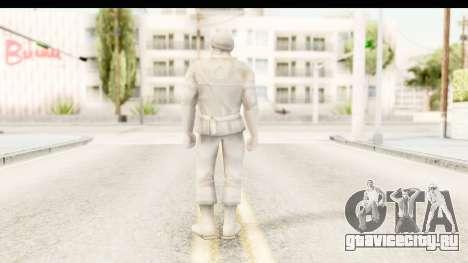 ArmyMen: Serge Heroes 2 - Man v1 для GTA San Andreas третий скриншот