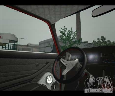 Lada 2107 Jiguar для GTA San Andreas вид сзади слева