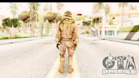 Danish Soldier для GTA San Andreas третий скриншот