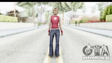 Silent Hill 3 - Heather Sporty Red Silent Hill для GTA San Andreas третий скриншот
