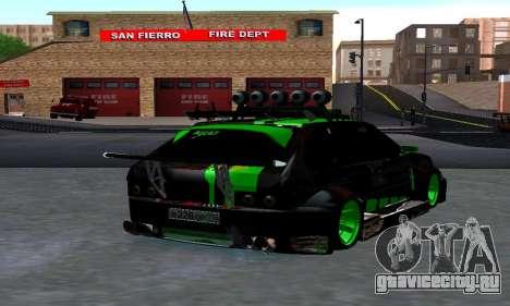 VAZ 2114 DTM для GTA San Andreas вид слева