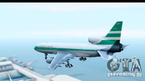 Lockheed L-1011-100 TriStar Cathay Pacific Air для GTA San Andreas вид слева