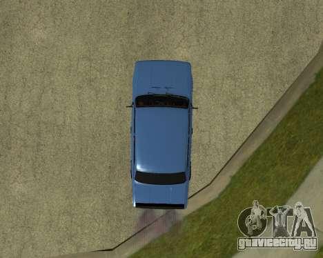 ВАЗ 2101 Армения для GTA San Andreas вид сзади