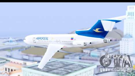 Boeing 727-200 Aeropostal для GTA San Andreas вид слева