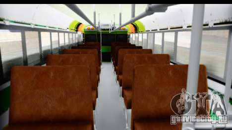 Ruta 135 для GTA San Andreas вид изнутри