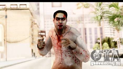 Left 4 Dead 2 - Zombie Shirt 1 для GTA San Andreas