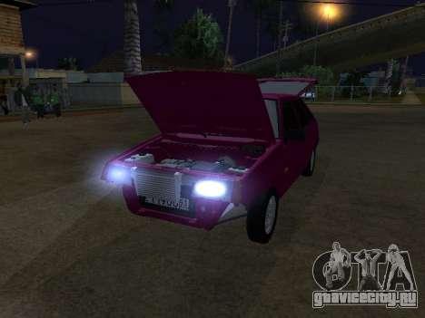VAZ 2109 для GTA San Andreas вид справа