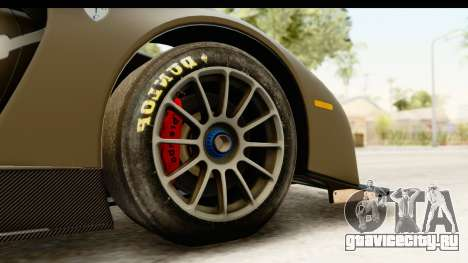 Scuderia Glickenhaus SCG 003C для GTA San Andreas вид сзади
