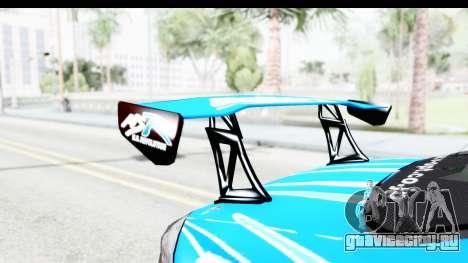 Nissan Silvia S15 D1GP Blue Toyo Tires для GTA San Andreas вид изнутри
