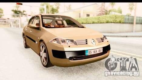 Renault Megane 2 Sedan 2003 для GTA San Andreas вид справа