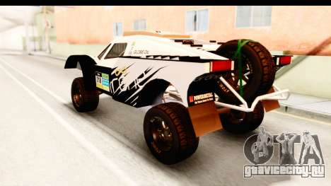 GTA 5 Desert Raid IVF PJ для GTA San Andreas вид сверху