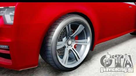 GTA 5 Enus Windsor Drop для GTA San Andreas вид сзади