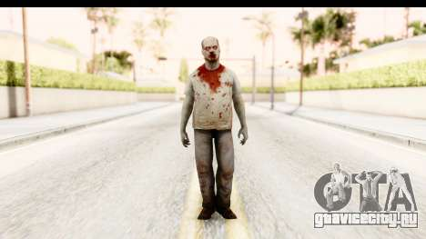 Left 4 Dead 2 - Zombie T-Shirt для GTA San Andreas второй скриншот
