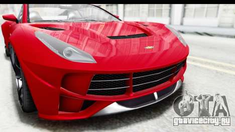 GTA 5 Dewbauchee Seven 70 IVF для GTA San Andreas вид сбоку