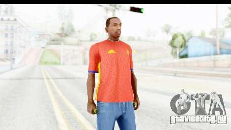 Spain Home Kit 2016 для GTA San Andreas