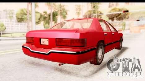 Vapid Brexit 1998 для GTA San Andreas вид сзади слева