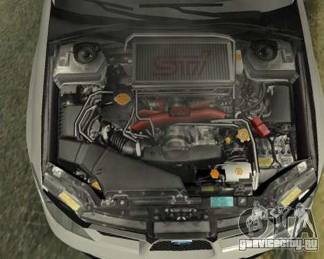 Subaru Impreza Armenian для GTA San Andreas вид сверху