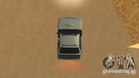 Super Sultan для GTA San Andreas вид сзади