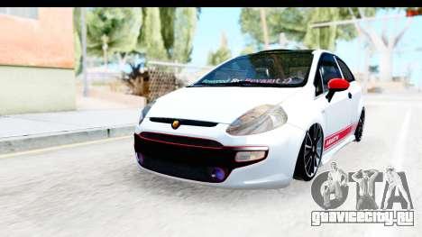 Fiat Punto Abarth для GTA San Andreas
