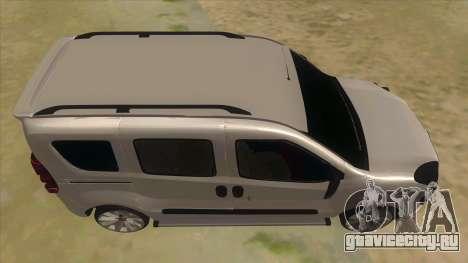 Fiat Doblo 2015 Series для GTA San Andreas вид изнутри