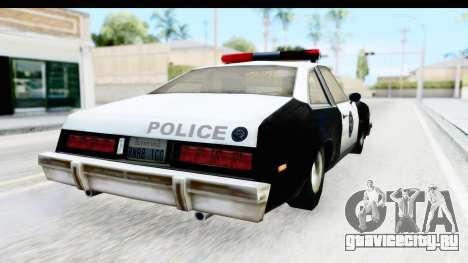 Pontiac Ventura LSPD from Silent Hill 2 для GTA San Andreas вид слева