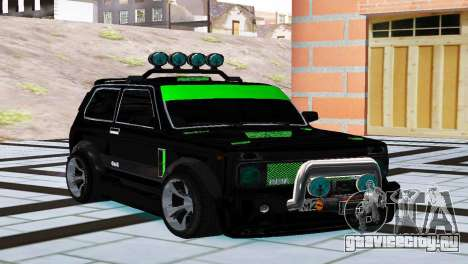 ВАЗ 21213 Нива 4x4 Tuning для GTA San Andreas