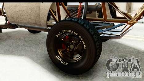 GTA 5 Trophy Truck IVF для GTA San Andreas вид сзади