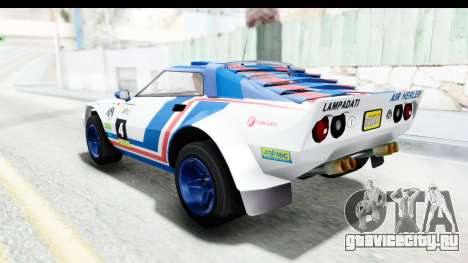 GTA 5 Lampadati Tropos Rallye No Headlights IVF для GTA San Andreas вид сверху