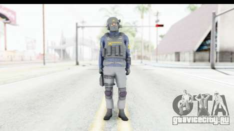 Quantum Break Monarch Operators для GTA San Andreas второй скриншот