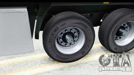 Trailer ETS2 v2 Old Skin 2 для GTA San Andreas вид сзади