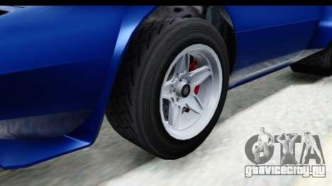 GTA 5 Lampadati Tropos Rallye No Headlights IVF для GTA San Andreas вид сзади