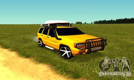 Jeep Grand Cherokee для GTA San Andreas