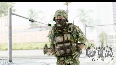 Croatian Soldier для GTA San Andreas