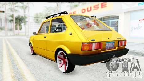 Fiat Spazio Tr Street для GTA San Andreas вид справа