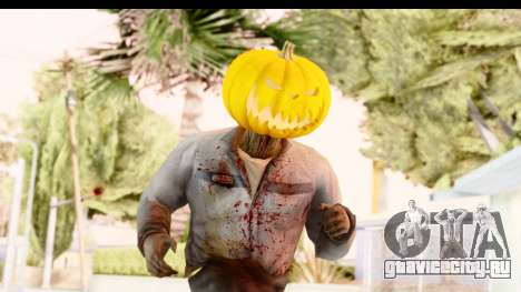 Left 4 Dead 2 - Zombie Pumpkin для GTA San Andreas